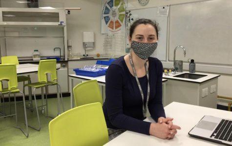 HS Science Teacher Corinne Morgan